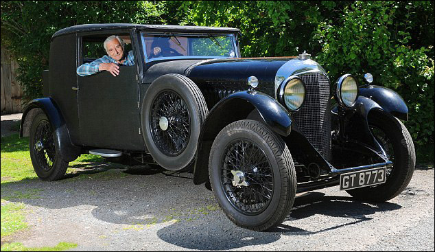 vintage bentley article :: do you remember your first car? 'yes, it