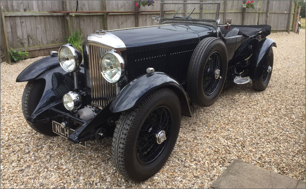 1931 8 Litre Bentley Chassis Yr5094 For Sale Page 1 Of 5