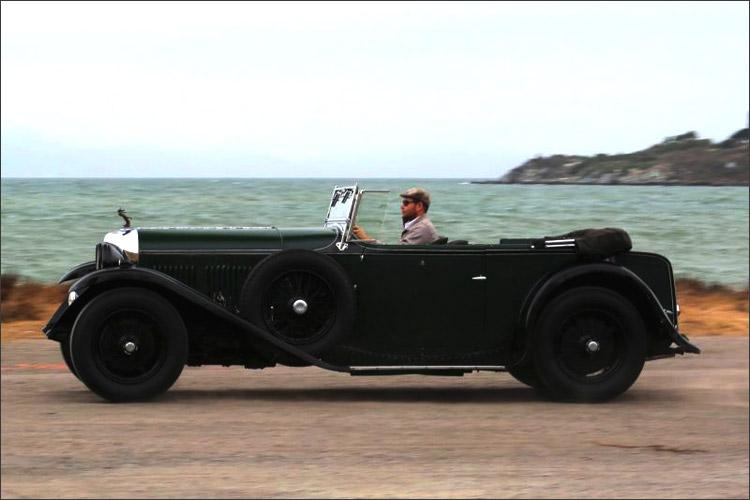 1931 Bentley 4 Litre Open Tourer By Vanden Plas