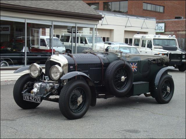 Vintage Bentley - 1932 Petersen Bentley 4½ Blower