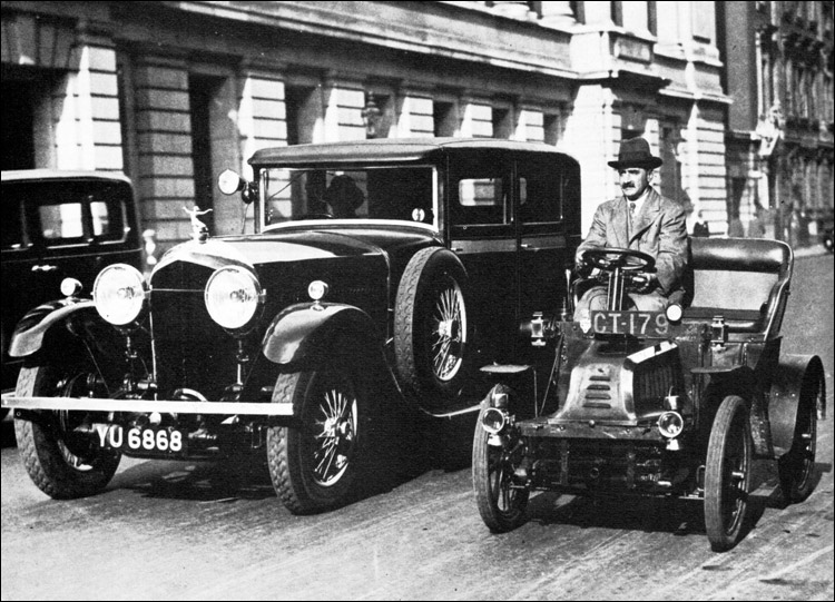 1927 Bentley 6½ Liter All-Weather Touring Car